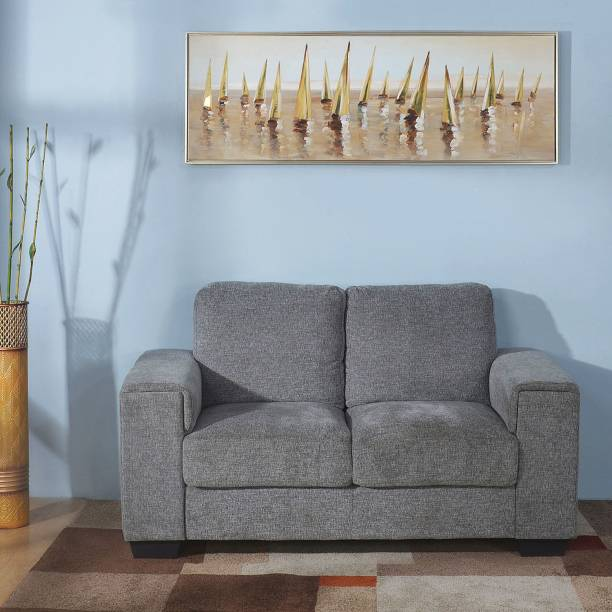 @Home by nilkamal Leah Fabric 2 Seater  Sofa