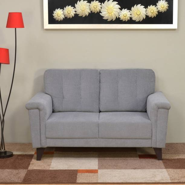@Home by nilkamal Jerry Fabric 2 Seater  Sofa