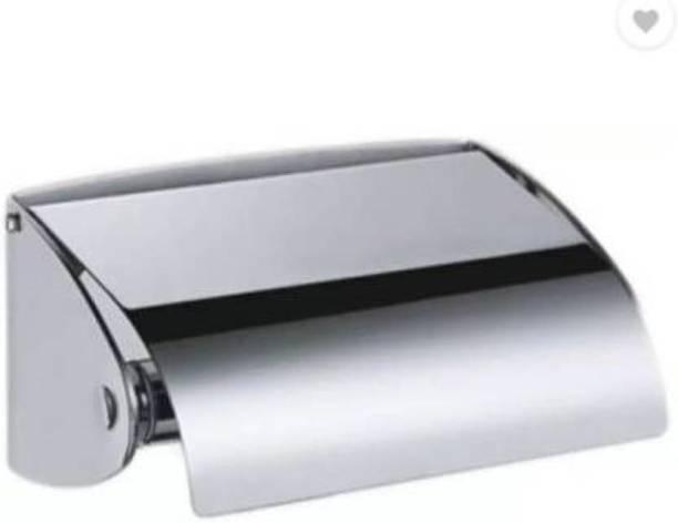 JPS Wall Mount Stainless Steel Bathroom Tissue Paper Holder Steel Toilet Paper Holder