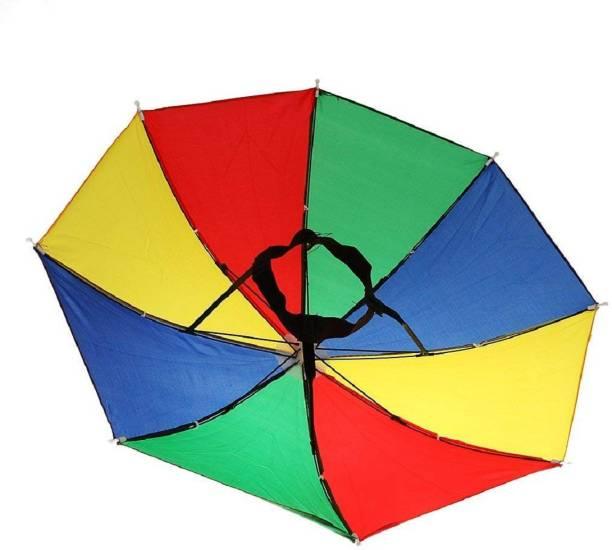 LAMRA LM-01, Hands-Free Adjustable Elastic, Size Fits All Ages, Kids, Men & Women . Umbrella