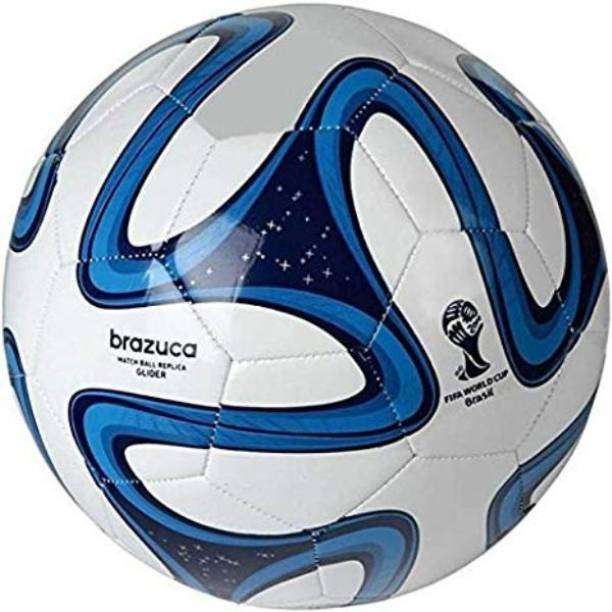 ADIDAS Blue Brazuca Match Ball Replica Football - Size: 5