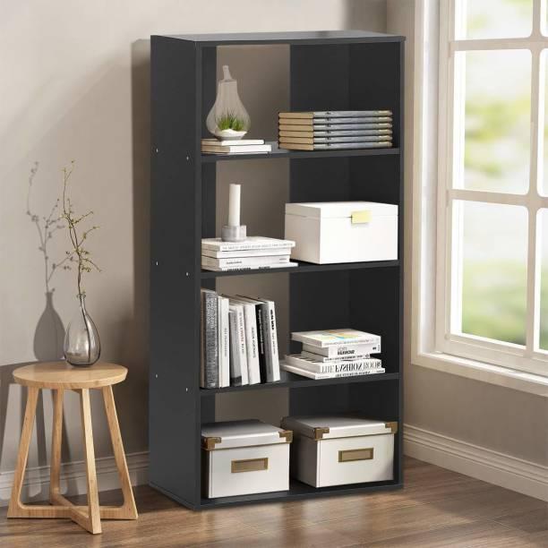 Suncrown Furniture Engineered Wood Open Book Shelf
