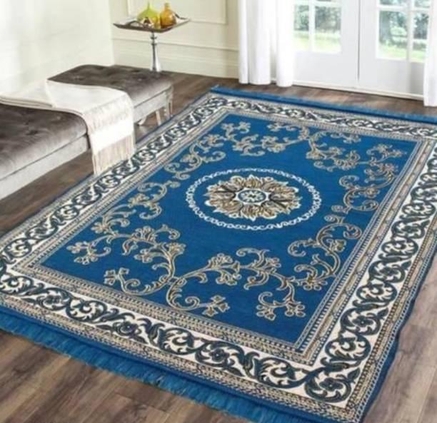 TruewalleT Blue Cotton Carpet