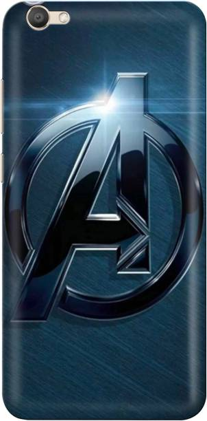 Accezory Back Cover for Vivo Y71/CAPTAIN AMERICA/IRON MAN/AVENGERS