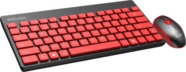 Portronics POR-372 Key2 Wireless Keyboard & Mouse Combo Wireless Laptop Keyboard