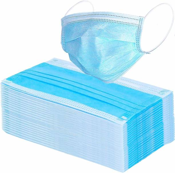 Trendy Trotters Earloop Medical Face Masks 3 Layer Non-Woven pack 0f 100 pcs Surgical Mask