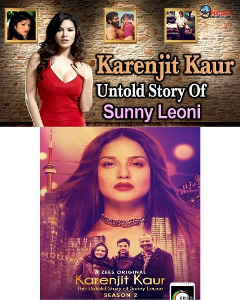Karenjit Kaur – The Untold Story of Sunny Leone Season 1 episodes 8 & Season 2 episodes 6 in Hindi burn data DVD play only in computer or laptop it's not original without poster but in HD