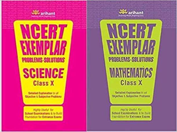 NCERT EXEMPLAR PROBLEMS-SOLUTIONS SCIENCE AND MATHEMATICES CLASS 10 ( Set Of 2 Book )