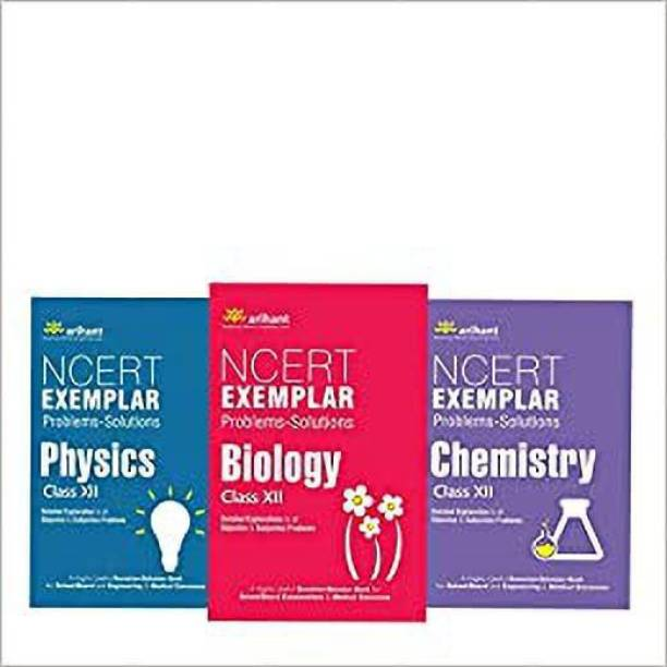 Arihant NCERT Exemplar , Set Of 3 Books Phyics Chemistry And Biology For Class 12th. Combo Pack For Complete Preparation