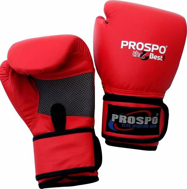 PROSPO Top-Grade Boxing Gloves, Kickboxing Bagwork Gel Sparring Training Gloves, Boxing Gloves