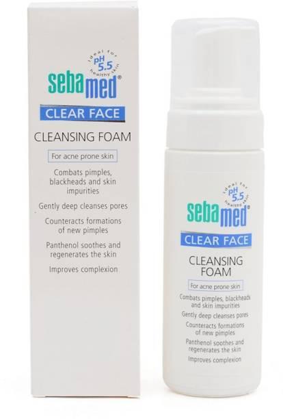 Sebamed Clear Face Cleansing Foam For Acne Prone Skin (150 ml)