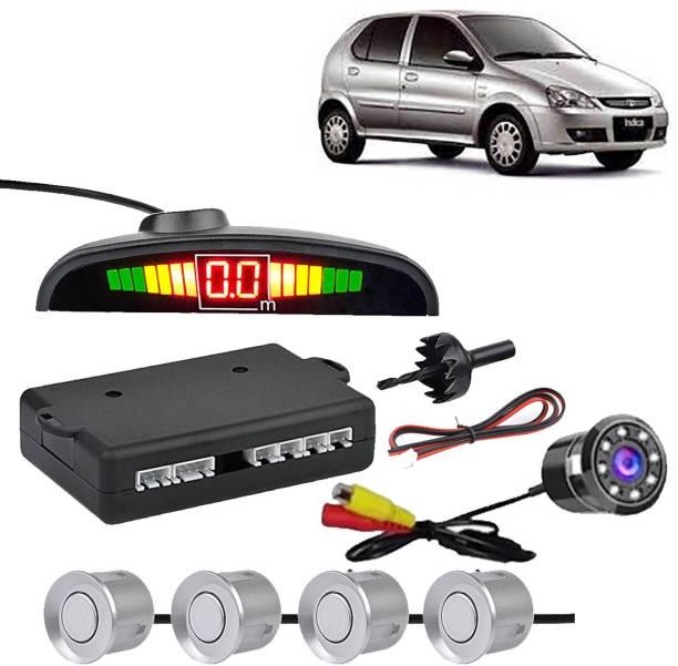 VOCADO PSWSLVRCLED7595 Car Safety System Silver Color Parking Sensor With LED Camera For Indigo_CLC566 Parking Sensor