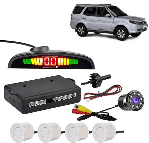 VOCADO PSWCLEDWHT235 Car Safety System White Color Parking Sensor With LED Camera For Safari Storme_CPS906 Parking Sensor