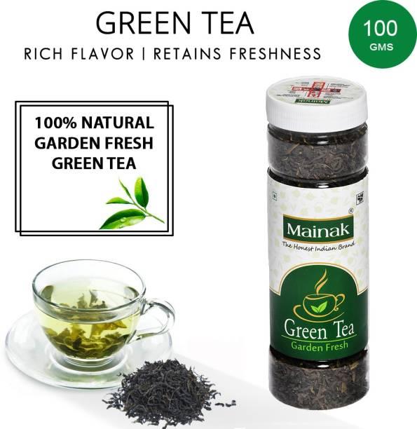 Mainak 100% Pure and Natural Green Tea Plastic Bottle