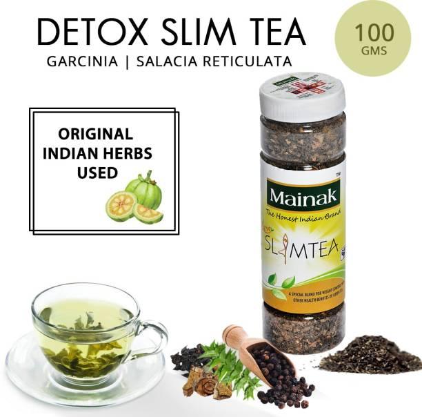 Mainak Slim Tea with Indian Herbs Green Tea Plastic Bottle