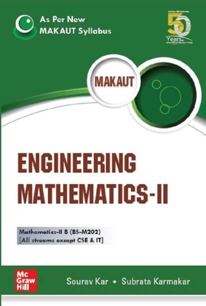 Engineering Mathematics-II (As per New MAKAUT Syllabus)
