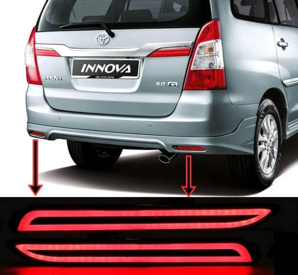 eliteauto Premium Car Reflector (Taiwan Quality) Led Brake Light for Bumper(Rear/Back) Drl New Design Car Reflector Light