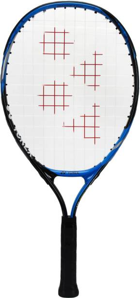 YONEX Ezone Junior Bright 19 Black, Blue Strung Tennis Racquet