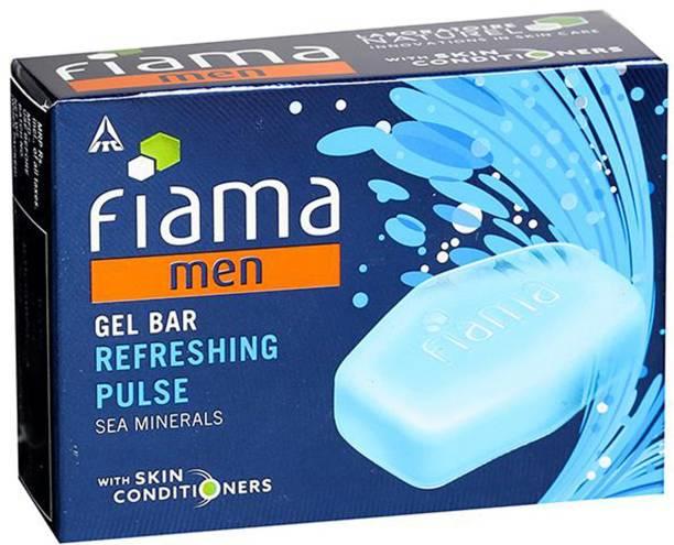 FIAMA Men Gel Bar Refreshing Pulse 125g