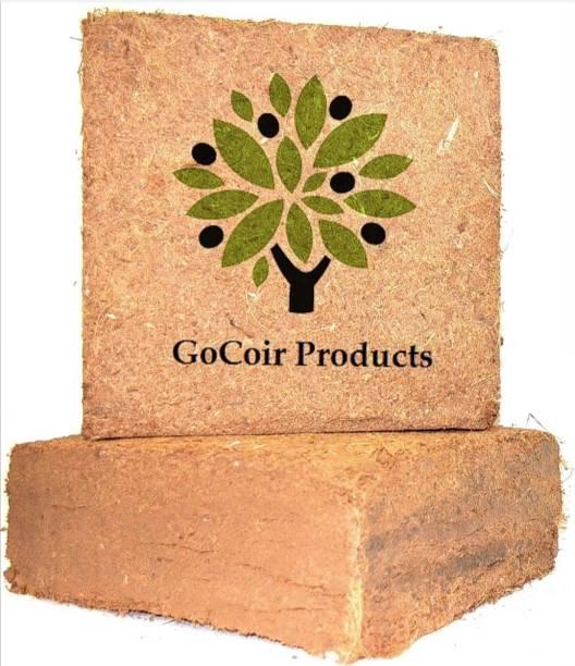 GoCoir Products pith Blocks 10Kg - Low Ec Washed Organic Planting Medium that Your Plants Love Potting Mixture, Manure, Soil