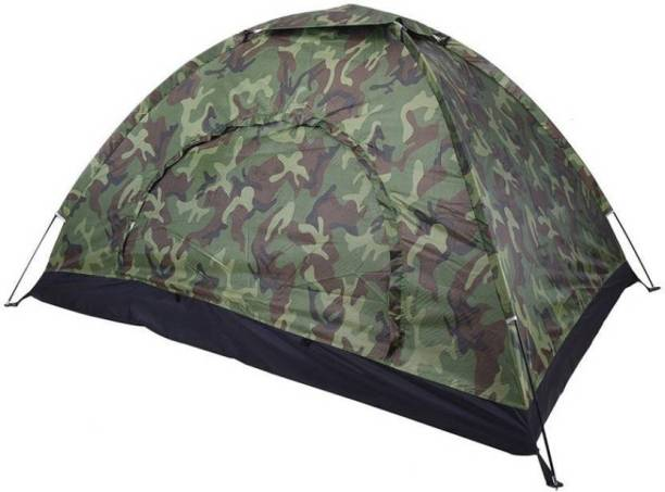 IRIS Three Season Military Outdoor Camping Tent - For 6 Person