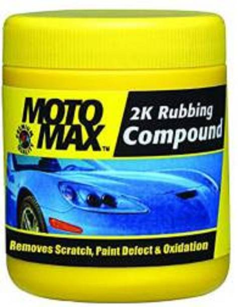 Motomax Paste Car Polish for Metal Parts, Exterior