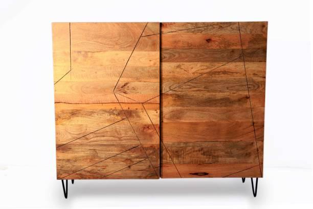 TimberManor Esberg Solid Wood Cupboard