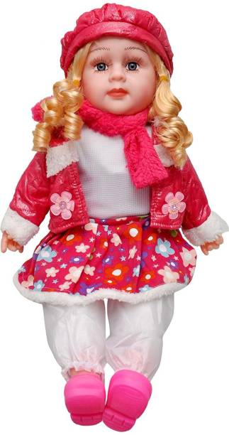 Kmc kidoz Battery Operated Poem doll for girls