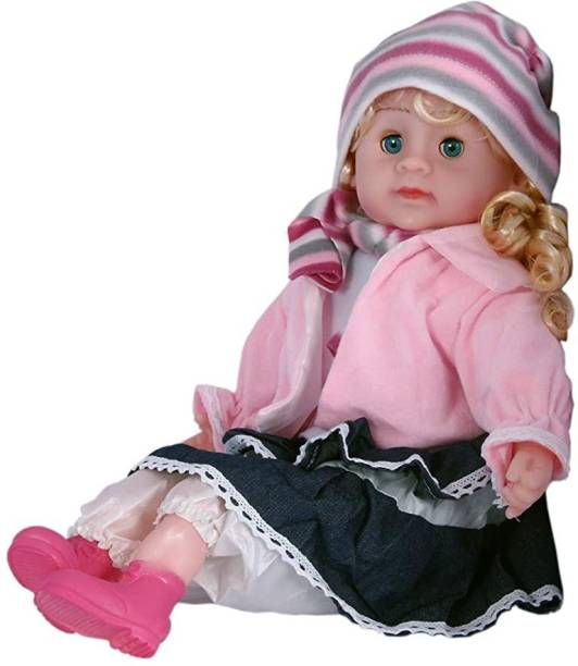 Kmc kidoz Baby Poem Doll Musical Baby Doll