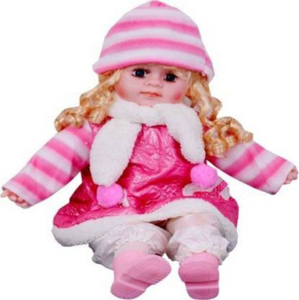 Kmc kidoz Premium Poem Baby Girl Doll with Singing Songs