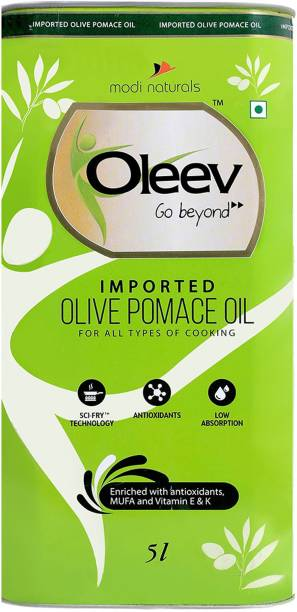 Oleev Imported Pomace Olive Oil Tin