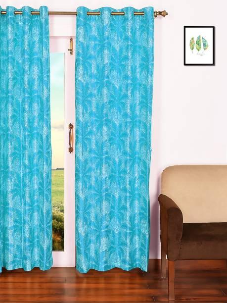 ARIANA 215 cm (7 ft) Polyester Door Curtain Single Curtain