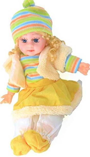 Kmc kidoz Poem Doll singing songs doll for baby boys & Girls