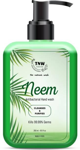 TNW - The Natural Wash NEEM HAND WASH Hand Wash Bottle