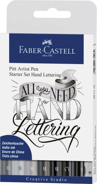 FABER-CASTELL 267118 India Ink Pitt Artist Pen for Hand Lettering