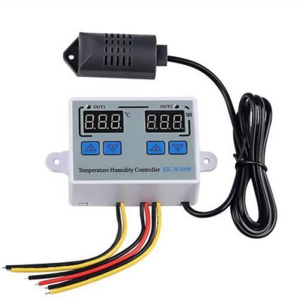 Solnoi Electronics W1099 Digital Temperature Humidity Controller Home Fridge Thermostat Humidistat 10A Multipurpose Controller