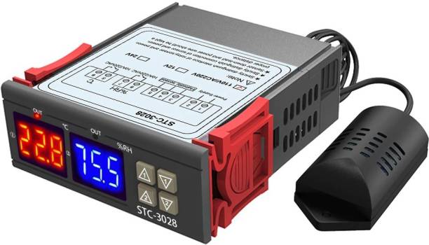 Solnoi Electronics W3028 / STC 3028 Digital Temperature Humidity Controller Thermometer Hygrometer Incubator Dehumidifier Multipurpose Controller