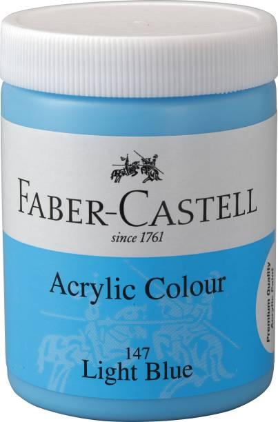FABER-CASTELL Acrylic 140ml Jar - Light Blue 147