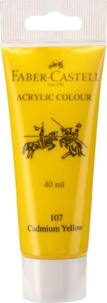 FABER-CASTELL Acrylic 40ml Tube - Cadmium Yellow 107