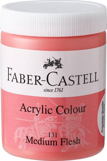 FABER-CASTELL Acrylic 140ml Jar - Medium Flesh 131
