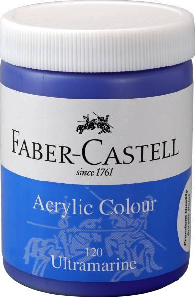 FABER-CASTELL Acrylic 140ml Jar - Ultramarine 120