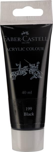 FABER-CASTELL Acrylic 40ml Tube - Black 199