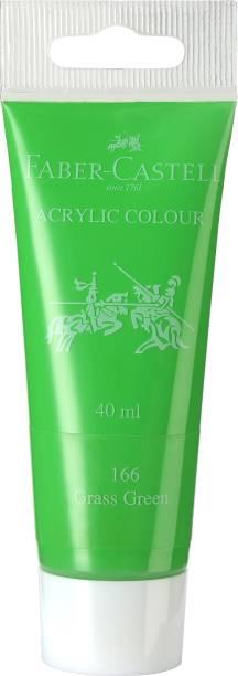 FABER-CASTELL Acrylic 40ml Tube - Grass Green 166