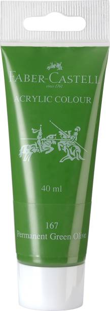 FABER-CASTELL Acrylic 40ml Tube - Permanent Green Olive 167