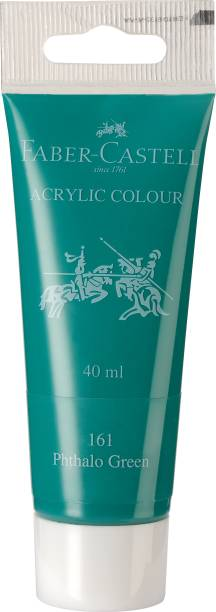 FABER-CASTELL Acrylic 40ml Tube - Phthalo Green 161