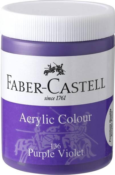 FABER-CASTELL Acrylic 140ml Jar - Purple Violet 136