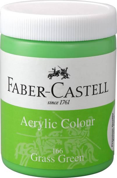 FABER-CASTELL Acrylic 140ml Jar - Grass Green 166