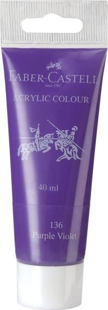FABER-CASTELL Acrylic 40ml Tube - Purple Violet 136