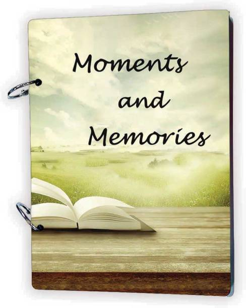 100yellow Moments And Memories 20 Pages Theme,  Scrapbook Kit