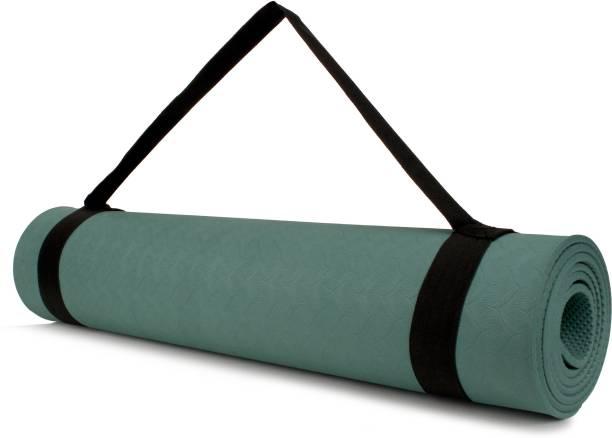 VELLORA Durable & Soft Green 6 mm Yoga Mat